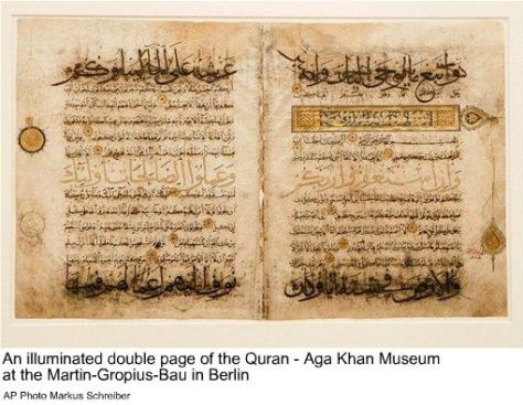 an-illuminated-double-page-of-the-quran-aga-khan-museum-at-the-martin-gropius-bau-in-berlin-ap-photo-markus-schreiber